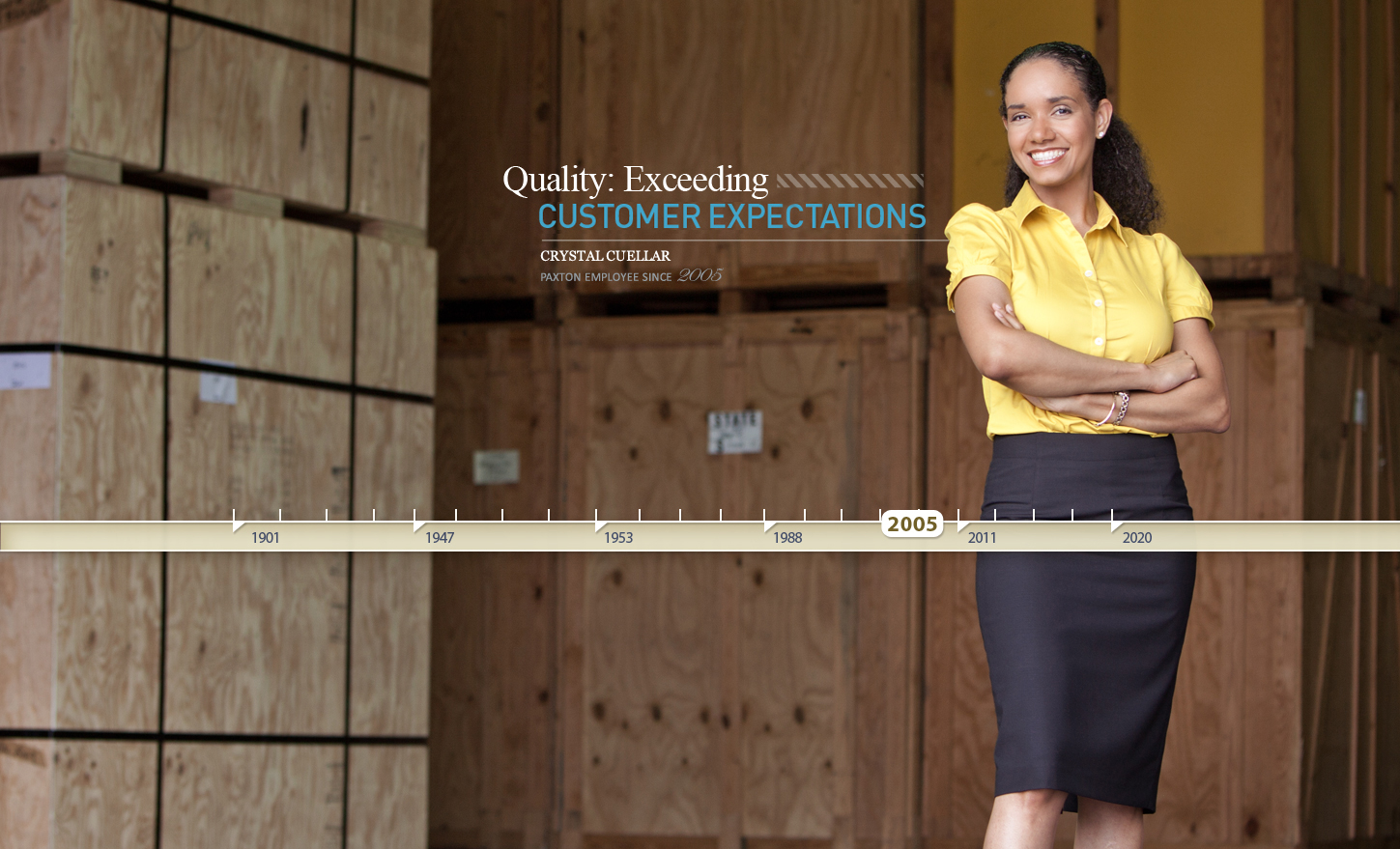 QUALITY: Exceeding customer expectations